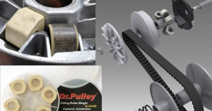 Roller Dr. Pulley